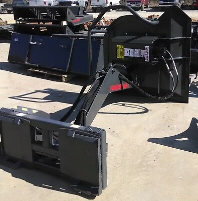 Swinging Boom Cutter for Skid Steer - Unlimited Fabrication
