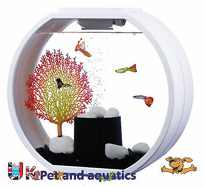 Fish R Fun, Deco Mini Fish Tank 10L White