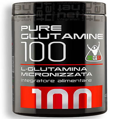 Net Integratori Pure Glutamine 100 200 gr glutammina integratore