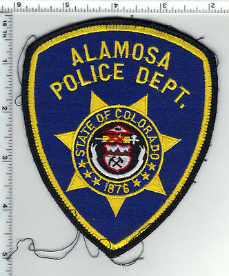 Alamosa Police (Colorado) Uniform Take-Off Shoulder Patch from the 1980's