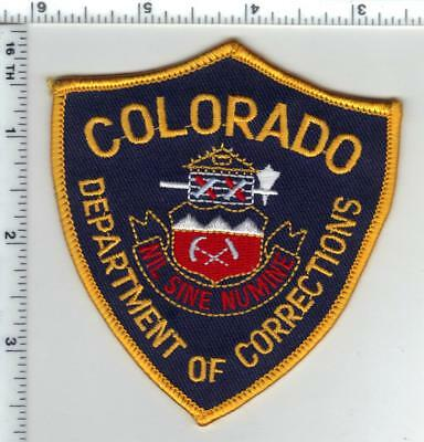 Colorado Department of Corrections Shoulder Patch - new from the 1980's