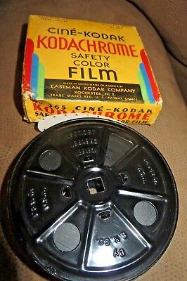 16mm Home Movie Film Reel, Colorado Trip Vacation Rare Early Kodachrome Post War