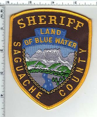 Saguache County Sheriff (Colorado) Shoulder Patch - new from the 1980's