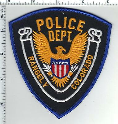 Rangley Police (Colorado) Shoulder Patch - new from the 1980's