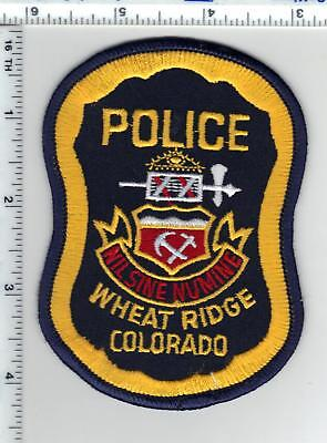 Wheat Ridge Police (Colorado) Shoulder Patch - new from the 1980's