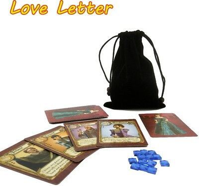 English Love Letter board game best quality 2 to 4 player game playing cards