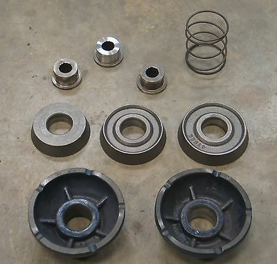 Ammco 9499 9-Piece Truck Adapter Set for Brake Lathe RELS Van Norman FMC Aamco