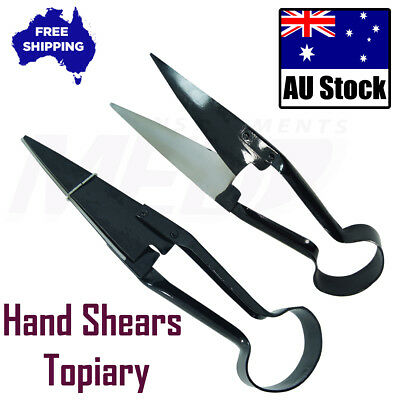Hand Shears Topiary Black Clipper Scissors Cutters Sheep Shears Shearing