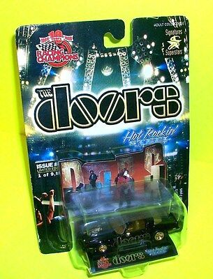 THE DOORS Racing Champions Black Trans-Am Gold Rims Diecast Toy Numbered Car