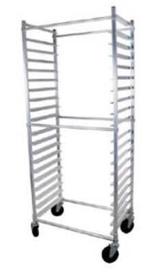 John Boos ABPR-1820-3KDS Standard Mobile Sheet Pan Rack Holds 20 Pans Side Load