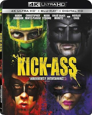 Kick-Ass (4K Ultra HD)(UHD)(Atmos)