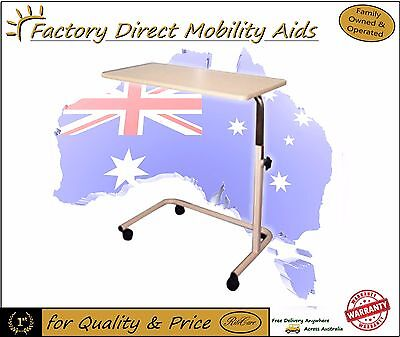 Days Overbed Over Bed Table Height Adjustable C Frame New Free Freight