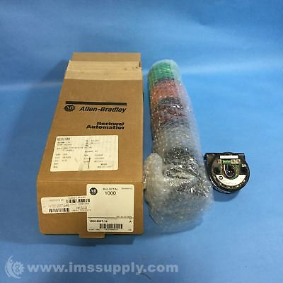 Allen Bradley 1000-855T-14 Stack Light Assembly Series Fnob