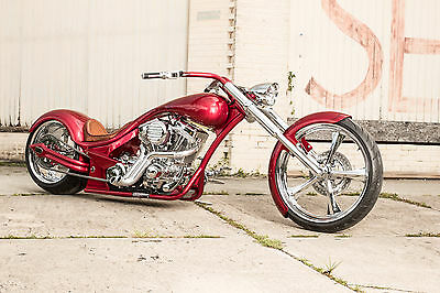 2017 Custom Built Motorcycles Chopper  Limited Edition model, Custom Harley, factory title, NADA listed
