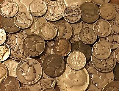 1/2 Troy Pound Old U.S. Mixed Silver Coins Lot-No Junk-Price Drop See Promo!