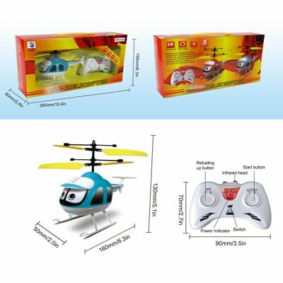 Induction Flying Toys RC Helicopter Cartoon Remote Control Drone Kid Plane Toy T
