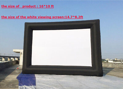 Inflatable Advertising Screen 16*10ft Movie Large  Screen Outdoor Indoor ON SALE