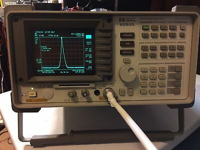 HP Agilent 8594A Spectrum Analyzer 9KHz-2.9GHz LF MF HF VHF UHF Analyser