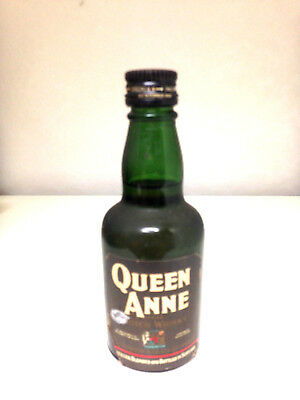 Queen Anne Blended Scotch Whisky Rare 1970's Miniature