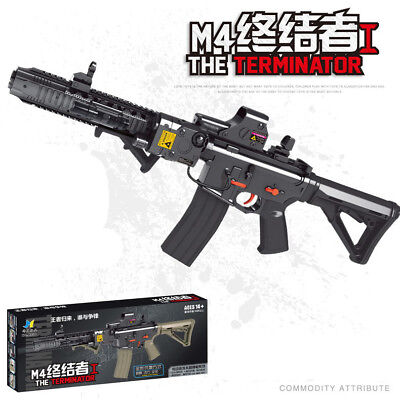 M4 Terminator Water Toy Gun Electric Soft Water Bullet Bursts Gun Toy