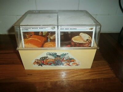 AUSTRALIAN WOMEN'S WEEKLY RECIPE CARD LIBRARY ~ RETRO 1970's