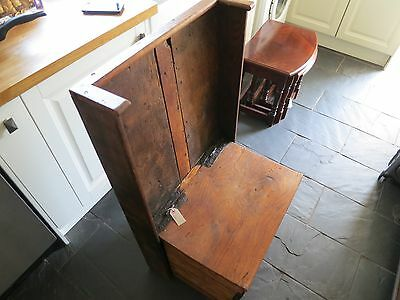 Antique Small Welsh Oak Settle