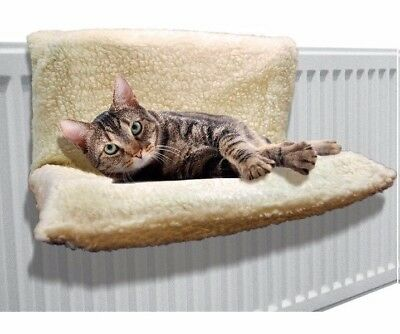 1 X Cat Radiator Bed Warm Fleece Beds Basket Hammock Animal Puppy Pet