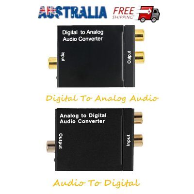Analog Audio to Digital Optical Coax Toslink Voice Adapter Sound Converter MN