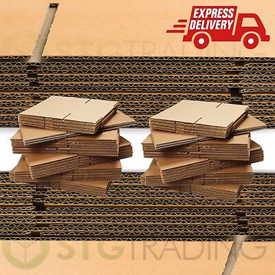 """DOUBLE WALL Cardboard House Moving Boxes - Removal Packing box - 18"""" x 18"""" x 18"""""""