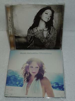 Sarah McLachlan Lot of 2 Music CD's Wintersong (2006) & Afterglow (2003) Mint Co