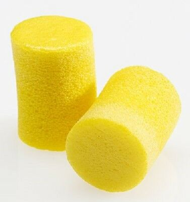 50 pairs 3M Ear Plugs E-A-R Classic Noise Reduction 29dB Yellow Foam Disposable