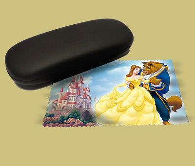 Beauty and the beast lens cloth screen wipe laptop pc glasses soft disney