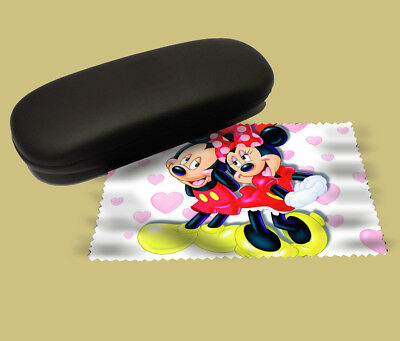 Mickey and Minnie mouse lens cloth screen wipe laptop pc glasses soft disney