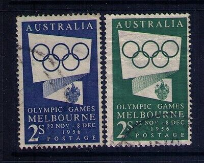 Australia Stamps,1956 Melbourne Olympic Games  SC#277;286,Used