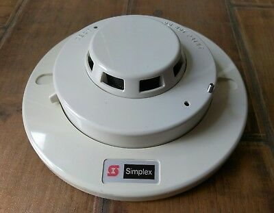 Simplex Photoelectric Smoke Detector with base 2098-9201 *USED*