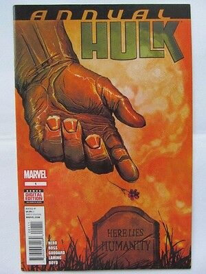 Hulk Annual  #1 (2014)  NM/+