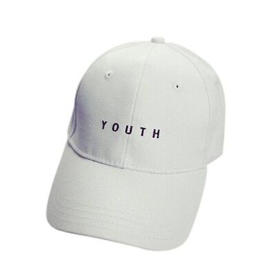(White) - Baseball Cap,Sumen Embroidery Cotton Boys Girls Adjustable Caps Hip