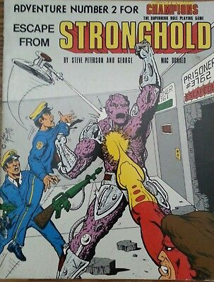 Escape From Stronghold, 1981, Champions, Hero Games