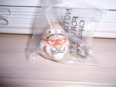 Exxon Tiger Keychain Vintage 1997 New In Sealed Bag