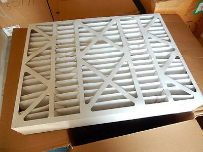 Synthetic Pleated Air Filters 18x24x4 merv 8 air handler 6B94 High Capacity