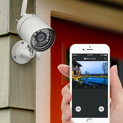 Outdoor Home Wireless Security Surveillance Video Camera System Night Vision App