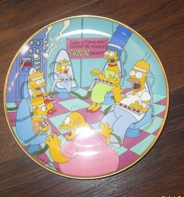 Simpsons Plates Family Therapy