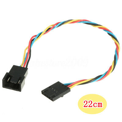 5 pin to 4 pin Fan Connector Adapter Convertion Extension Cable For Dell Newly