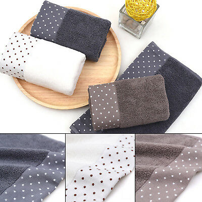 1PCS Hand Towels Soft Cotton Absorbent Bath Beach Home Face Sheet Kitchen Towels