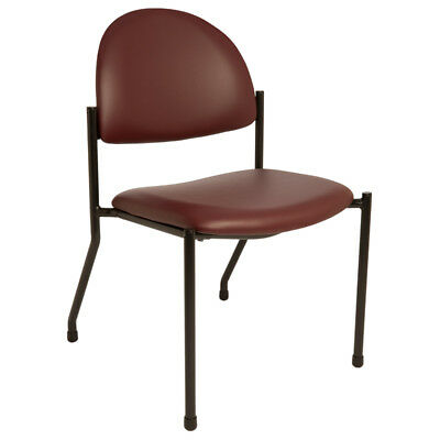 Brewer 1250 Side Chair without Arms, Burgundy, Qty 1 each #1250-04 New