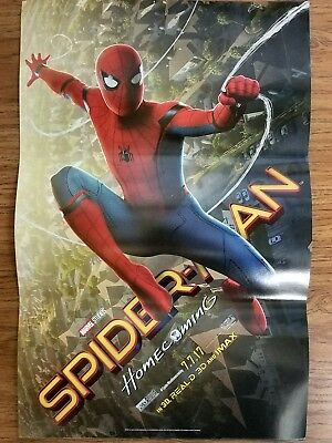 11x7 Spiderman poster