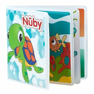 Nuby Bright Colourful And Educational Baby / Child / Kids Bath Book