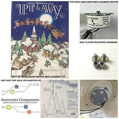 Department 56,up,up & Away-Model#52593- Replacement Motor- Parts