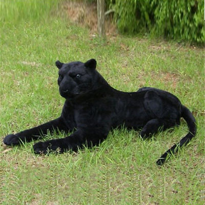Hot 140cm Large Black Panther Soft Toy Plush