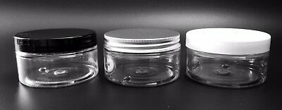 100ml Clear Empty Pots, Jars, Containers, Tub, storage & cosmetic lotions creams